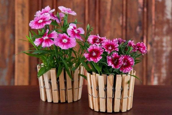 Originelle pflanzt pfe aus gebrauchten gegenst nden selber for Dekoration naturmaterialien