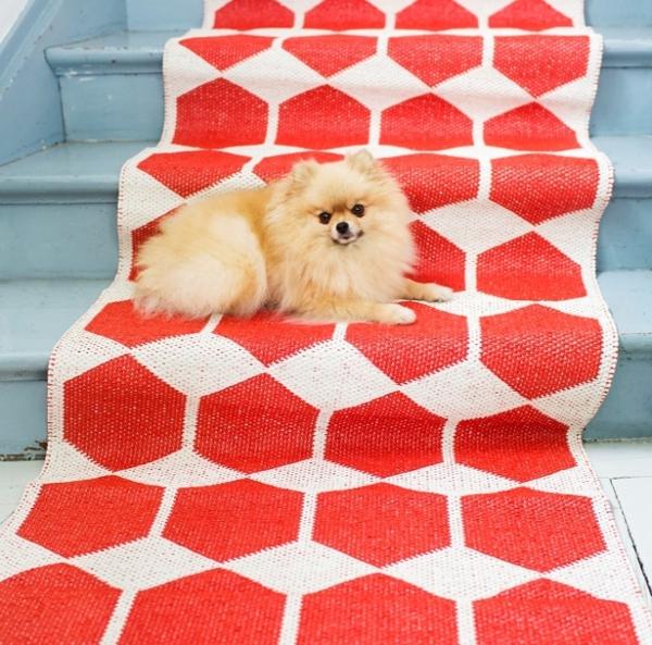 plastikteppich skandinavisch einrichten designer teppiche brita sweden