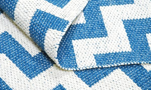 plastmatta gunnel blau plastikteppich brita sweden designer teppiche