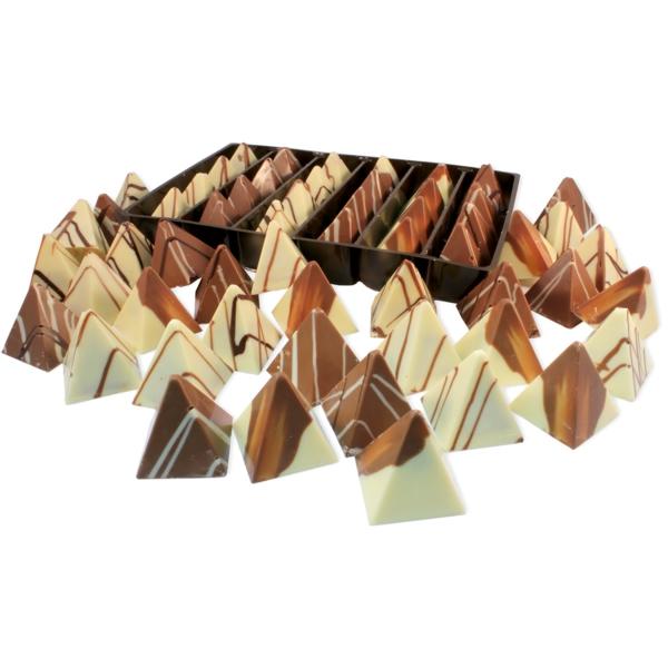 pralinen selber machen pyramiden form