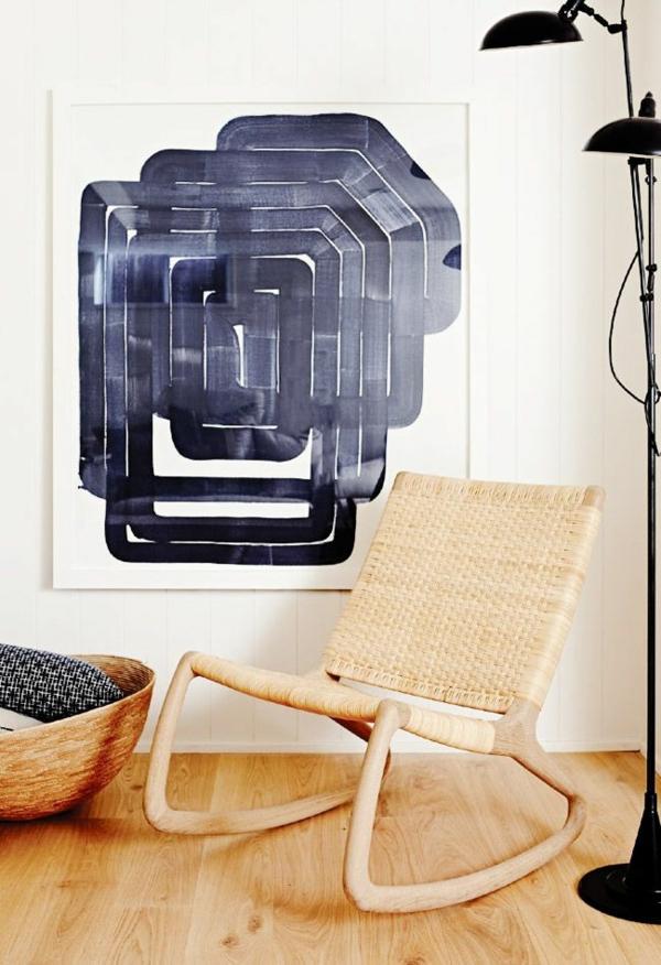 rattanmöbel einrichtung wohnzimmer flechtmöbel designer sessel