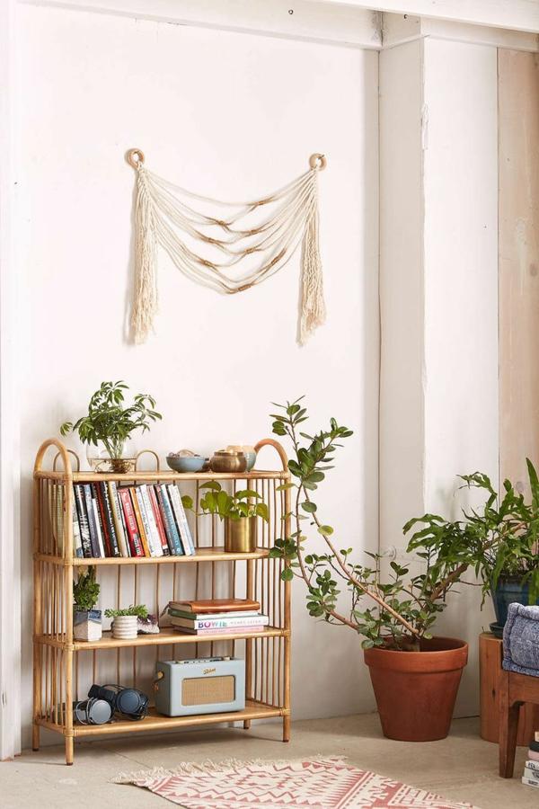 rattanmöbel einrichtung wohnzimmer möbel flechtmöbel regal