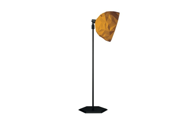 rock stehlampe Diesel Foscarini goldener lampenschirm