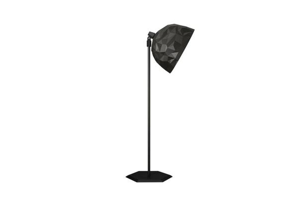 designer lampen rock stehlampe schwarz  Diesel