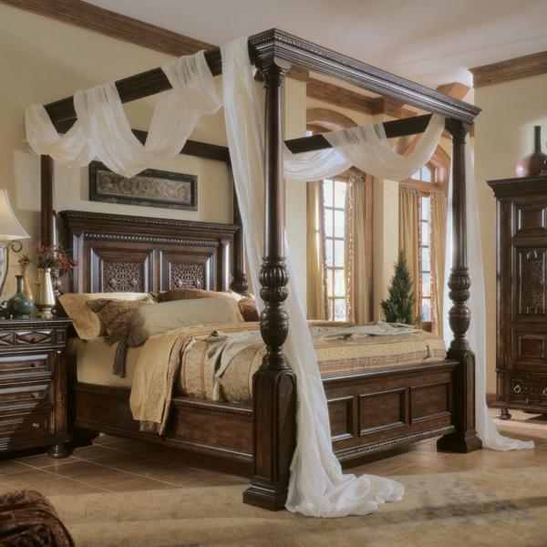 schlafzimmer design elegant deko pflanzen
