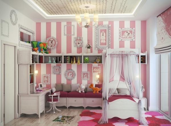 schlafzimmer design kinderzimmer shabby chic stil