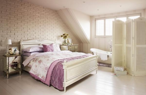 Vintage Lila Schlafzimmer ~ Kreative Deko-Ideen und Innenarchitektur