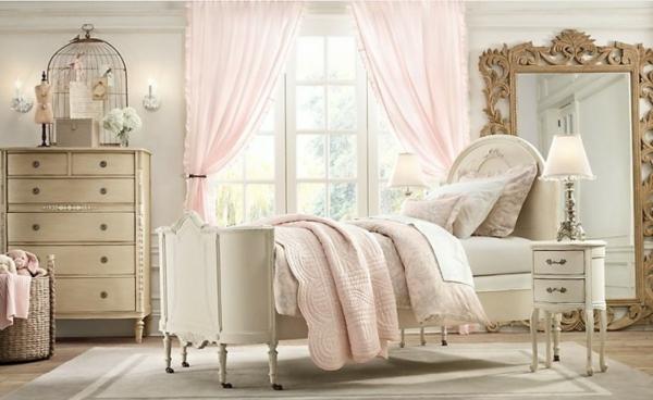 schlafzimmer einrichten beistelltisch kommode käfig