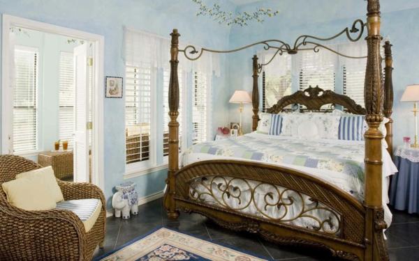 Schlafzimmer Einrichten - Inspirierende Moderne Innendesign Ideen Schlafzimmer Rustikal Einrichten