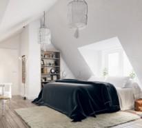 schlafzimmer einrichten - inspirierende moderne innendesign ideen - Schlafzimmer Einrichten Ideen Dachschrge