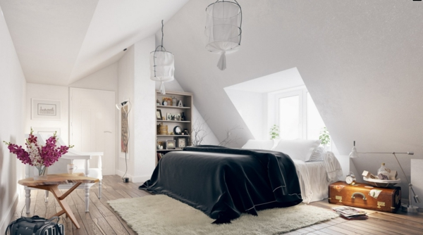 schlafzimmer einrichten inspirierende moderne innendesign ideen. Black Bedroom Furniture Sets. Home Design Ideas