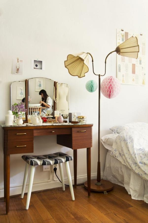 Schminktisch designs f r die eigene feminine ecke im zimmer for Schlafzimmer mit schminktisch