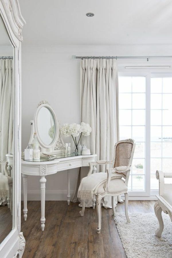 Schlafzimmer Einrichten Möbel Schminktisch Vintage Design Schminktisch  Designs Für Die Eigene Feminine Ecke Im Zimmer | Einrichtungsideen ...