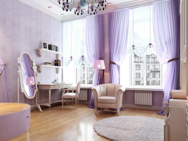 schminktisch designs für die eigene feminine ecke im zimmer, Schlafzimmer