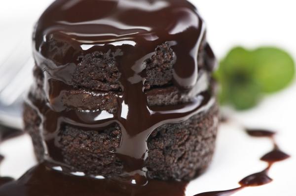 schokoladenkuchen leckereien zubereiten schokolade