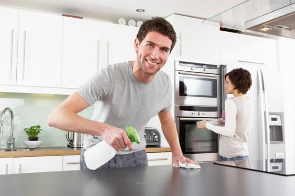 selbstmotivation frühling tipps küche oberflächen