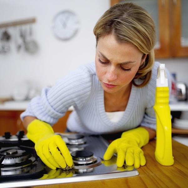 selbstmotivation küche frühling vorbereiten putzen kochplatten