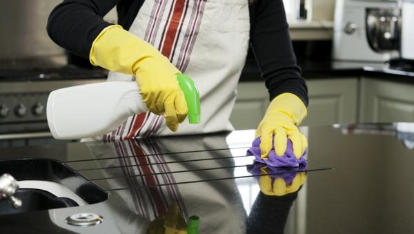 selbstmotivation küche oberflächen putzen mittel