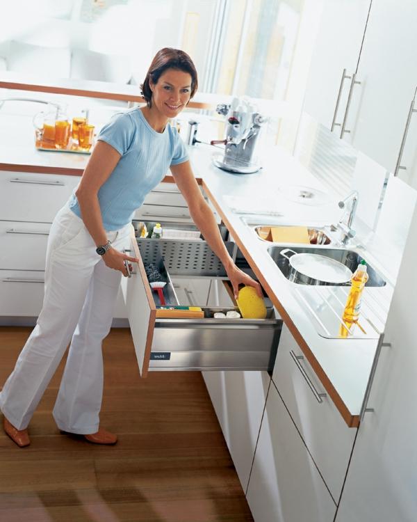 selbstmotivation küche organisieren putzen frühling