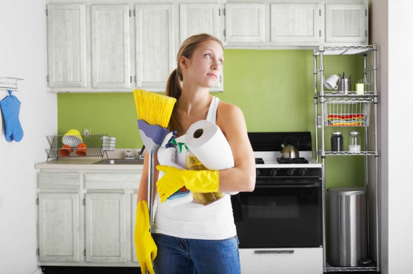 selbstmotivation putzen frühling tipps küche