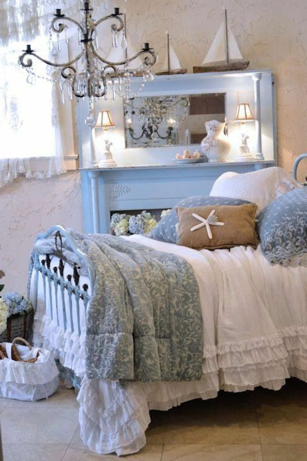 shabby idee schlafzimmer. Black Bedroom Furniture Sets. Home Design Ideas
