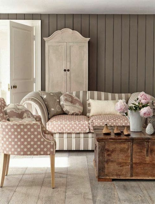 shabby chic deko dem raum einen sanften und femininen. Black Bedroom Furniture Sets. Home Design Ideas