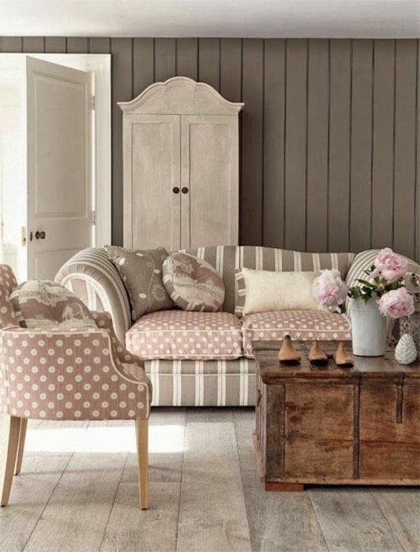 shabby chic wohnzimmer einrichten vintage wohnzimmer gestalten shabby chic. Black Bedroom Furniture Sets. Home Design Ideas