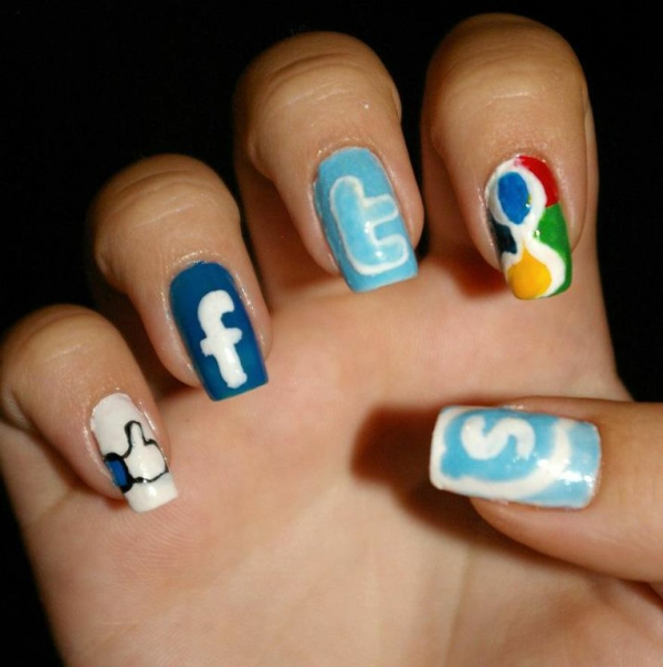 soziale netzwerke nagellack desislava hadzhiyska