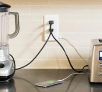 Die Steckdose SnapPower verwandelt Ihre Wand in ein USB Ladegerät