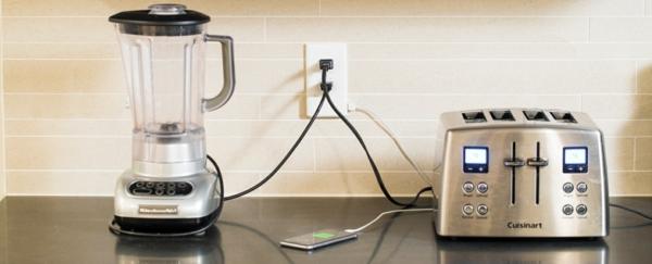 steckdose und usb ladegerät SnapPower küchengeräte