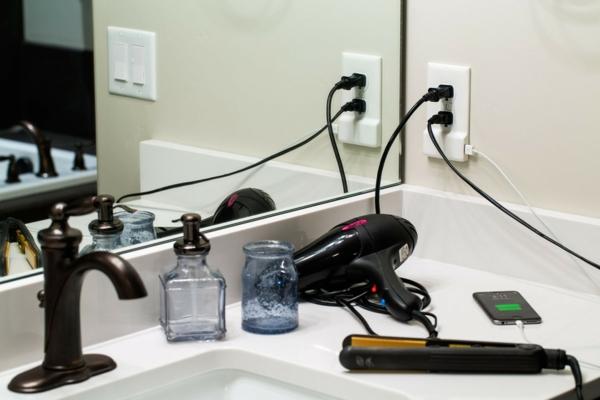 steckdose und usb ladegerät gadgets SnapPower badezimmer