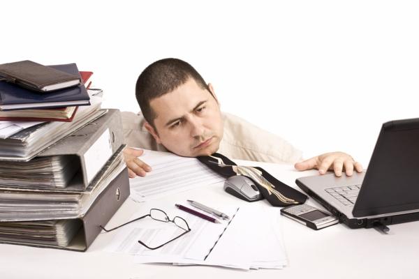 stress am arbeitsplatz überforderung müdigkeit