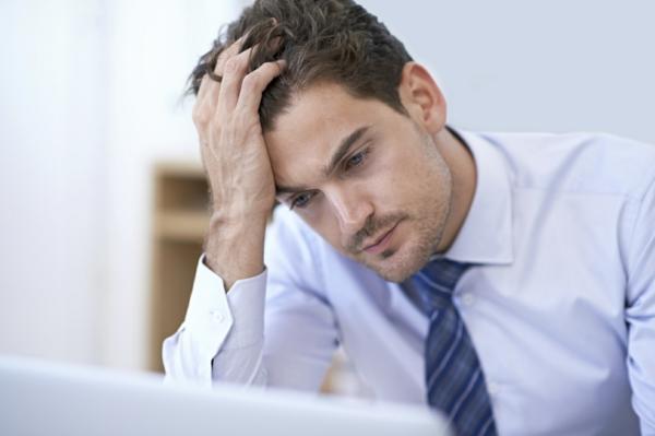 stress am arbeitsplatz unkonzentriert müde
