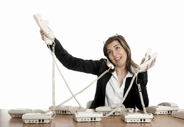 stress am arbeitsplatz telefonate