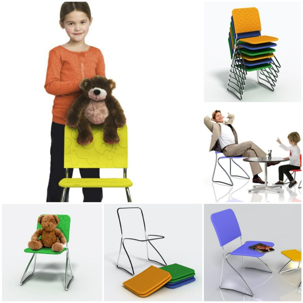 stuhl design Dress me chair Baita Design Studio