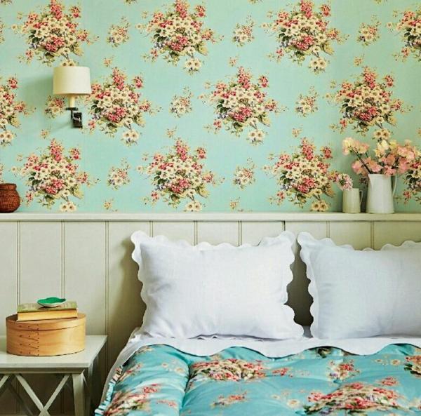 tapete mit muster wird den raum einzigartiger erscheinen. Black Bedroom Furniture Sets. Home Design Ideas