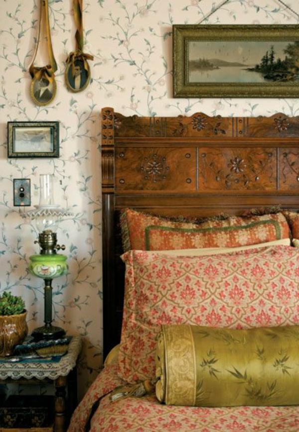 Muster Tapete F?r Schlafzimmer : Tapete mit Muster wird den Raum einzigartiger erscheinen lassen