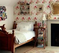 Tapeten Landhausstil – Frische Ideen, wie Sie die Wände verkleiden
