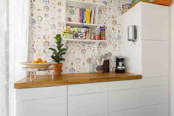 tapeten muster studio ditte küche wandgestaltung