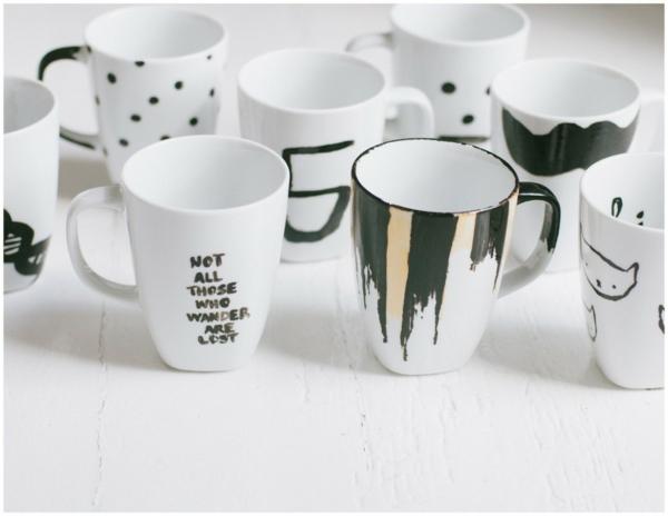 tasse kaffee bilder weiß designs