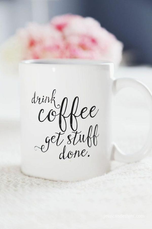 tasse kaffee bilder weiß handschrift schwarz weiß