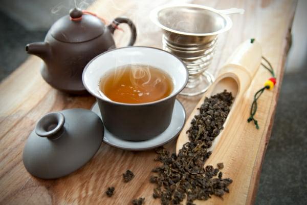 tee trinken tasse oolong tee