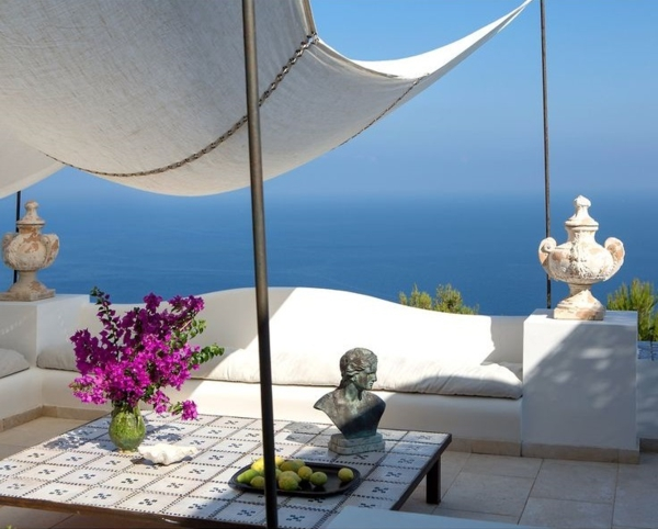 traumhaus insel capri designer Francesco della Femina außenbereich gestalten