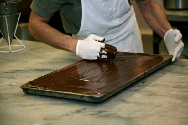 vegane schokolade hausgemacht-blech
