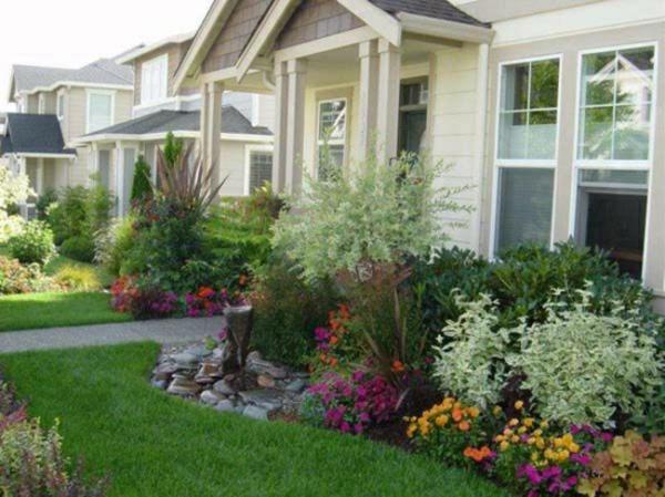 vorgartengestaltung ideen beispiele kleinen vorgarten gestalten
