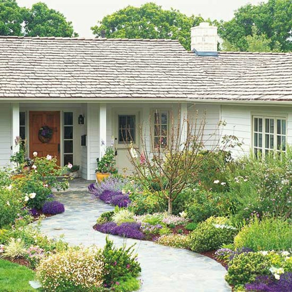 Kleinen Vorgarten Gestalten   25 Inspirierende Beispiele, Gartenarbeit Ideen