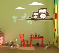 Babyzimmer deko eule  ▷ 1000 Ideen für Kinderzimmer Deko - dekorieren Sie mit ...