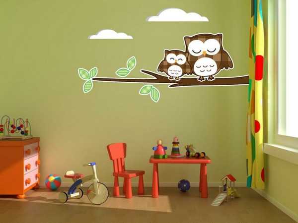 kinderzimmer deko wand my blog. Black Bedroom Furniture Sets. Home Design Ideas