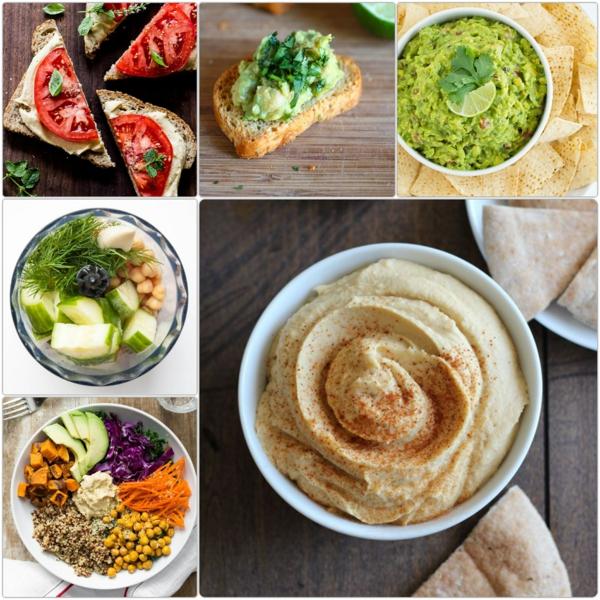 was ist Hummus zubereiten hummus gesund essen