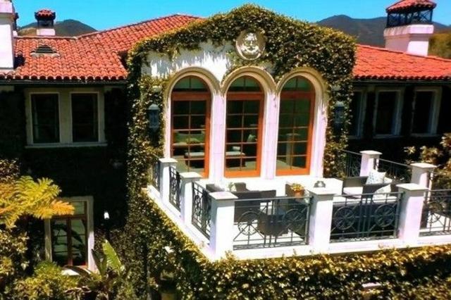 wo wohnt Heidi Klum Villa kletterpflanzen grüne ideen